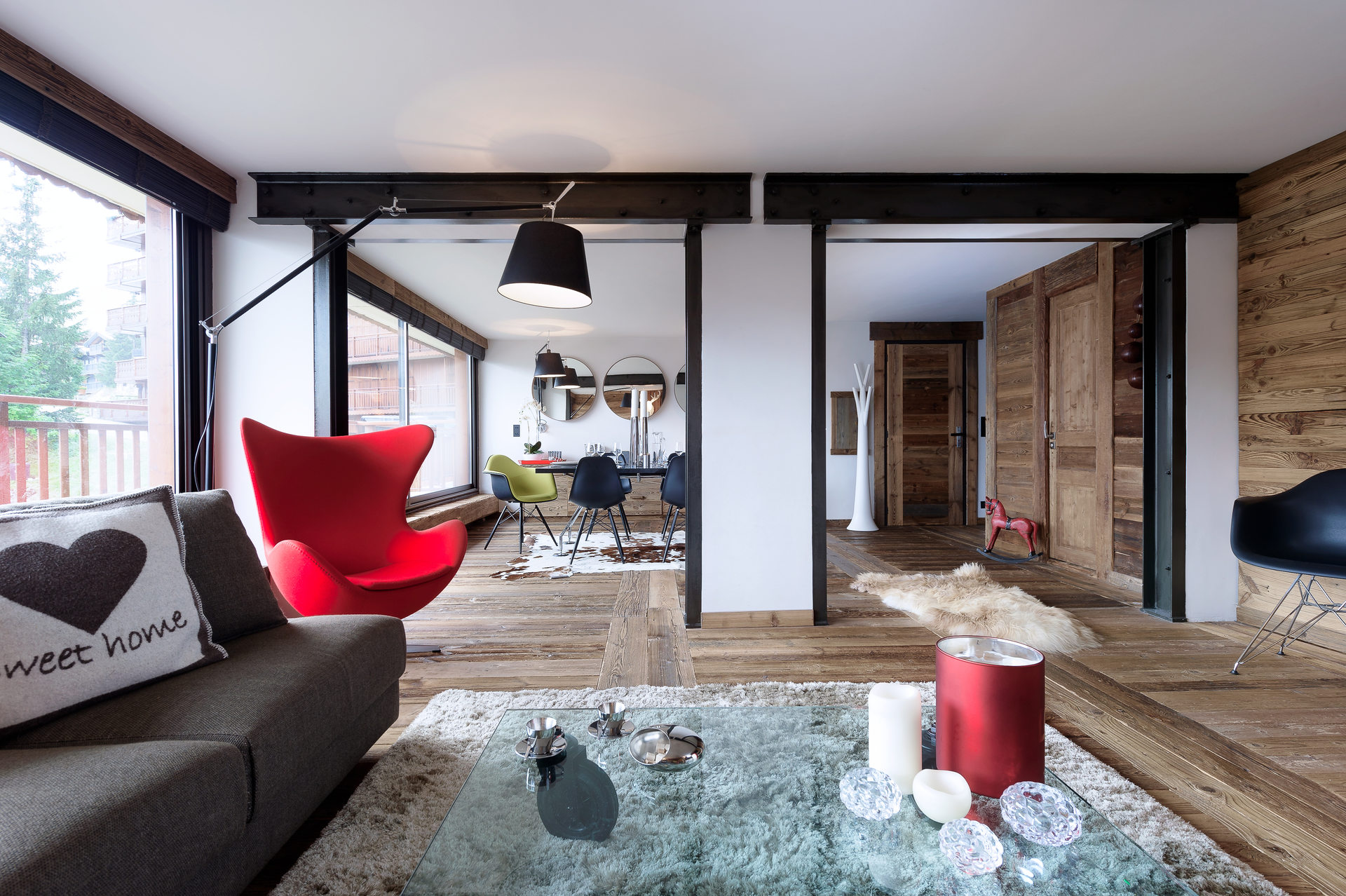 Guided tour : Discovery of the Pralong apartment,